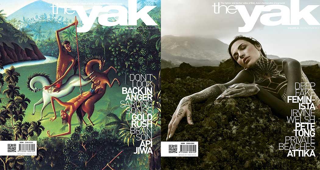 yak magazine bali