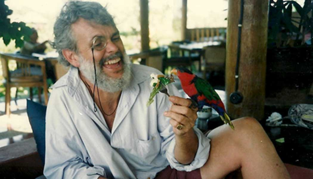 The late filmmaker and adventurer Lorne Blair ... and friend.