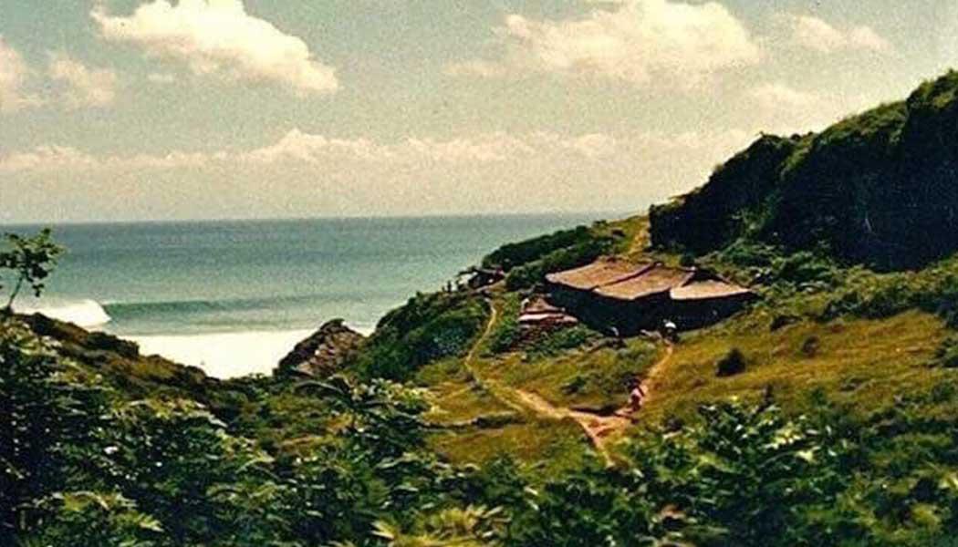 Uluwatu, mid 1980s.