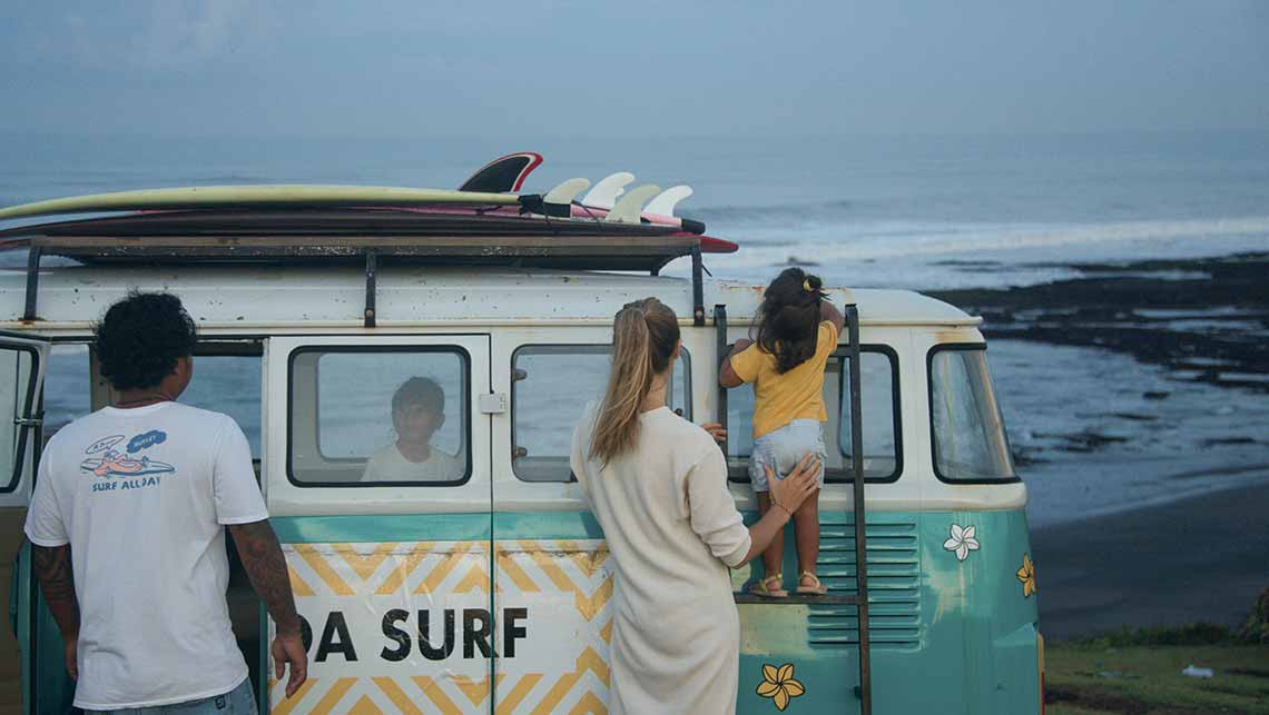 In Da Surf Bali: Nikola Kostic