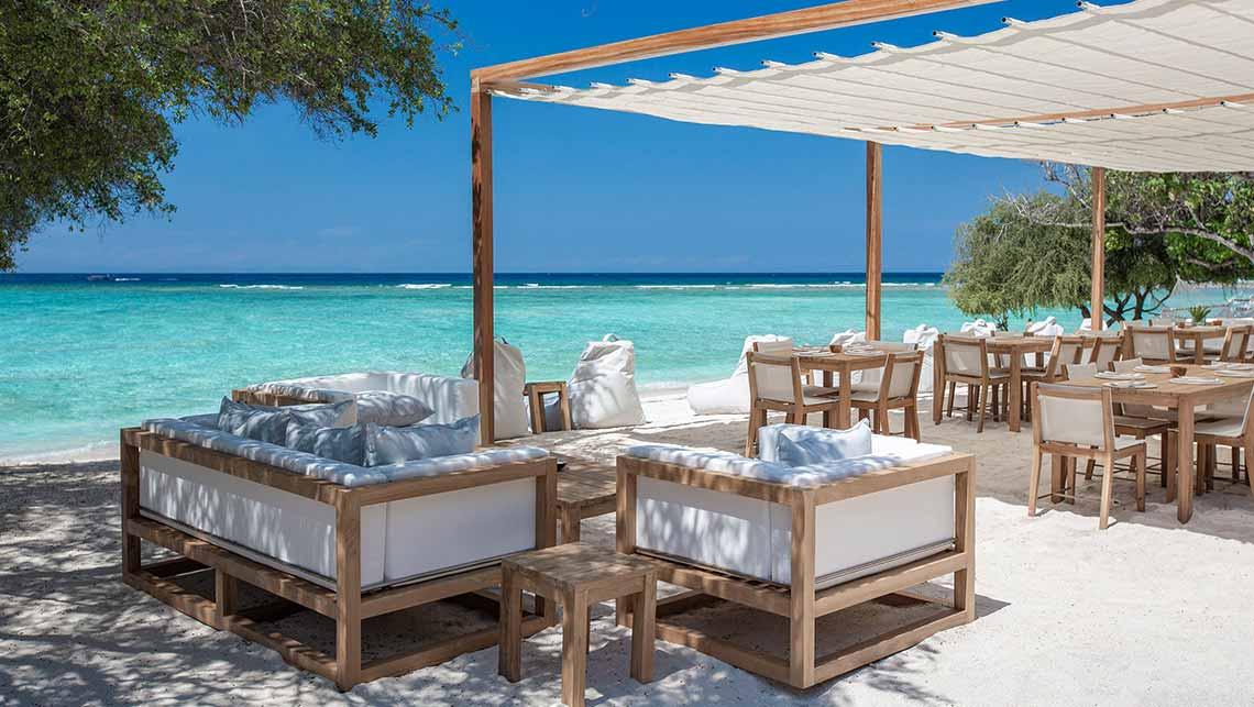 Santi Beach Club & Restaurant, Gili Trawangan