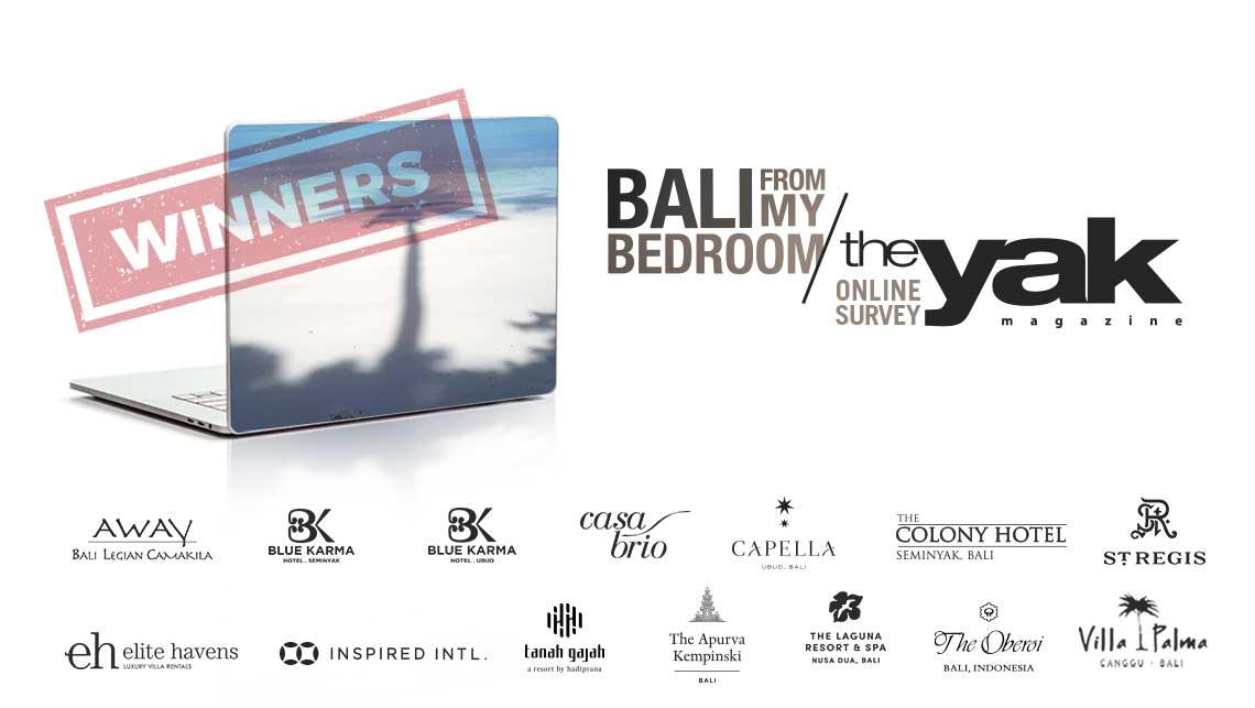Bali from ny bedroom