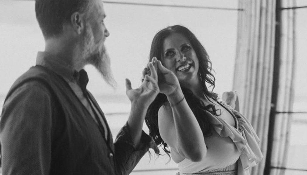 Rhonda with husband Brian Swan
