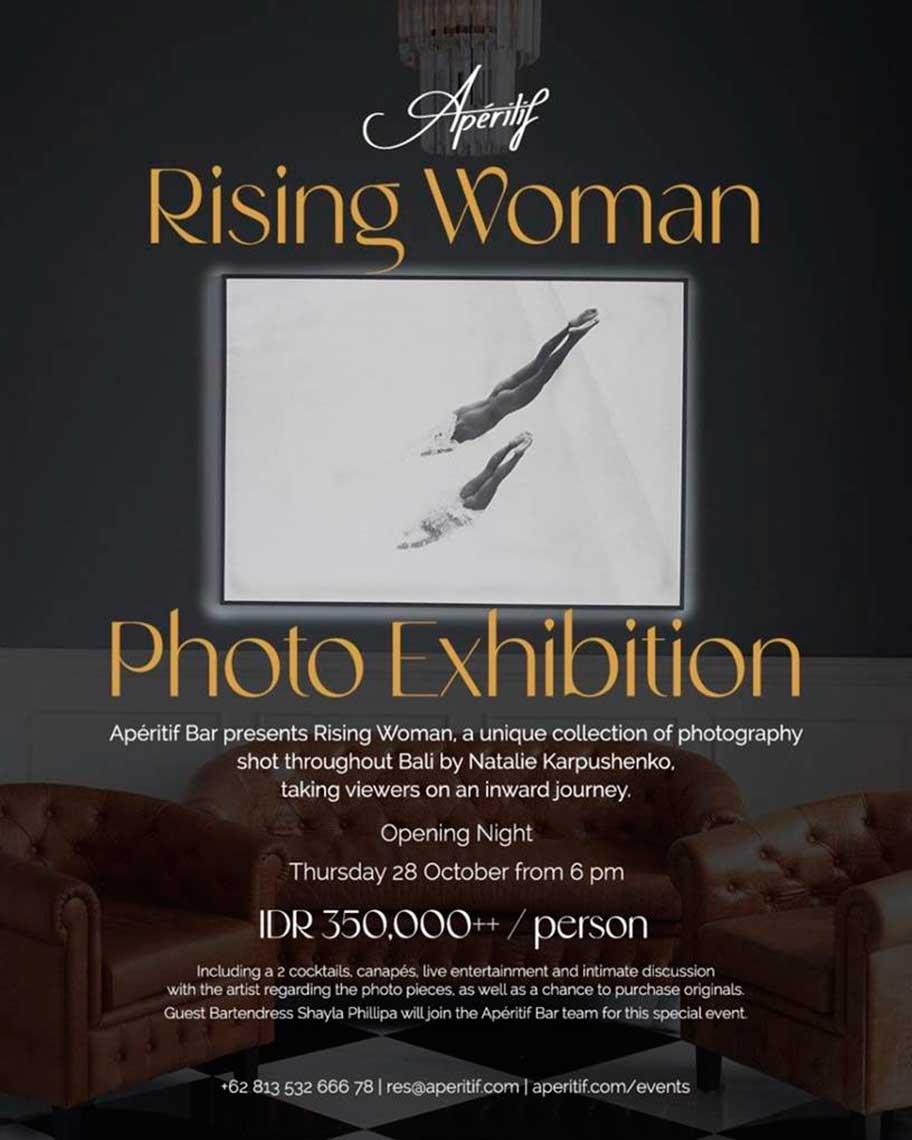 Rising Woman Photo Exhibition at Aperitif